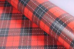 Бумага  ГЛЯНЕЦ 100/646  Шотландский плед (68*98см)  (10 лист.)