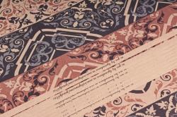 Бумага  КРАФТ 203/644 Орнамент 100*70см  (10 лист)