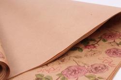 Бумага  КРАФТ 203/384 Rose 100*70см  (10 лист.)