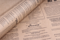 Бумага  крафт цветочная Губернские Вести 70см*10м  70г/м2   35601ПУ  М
