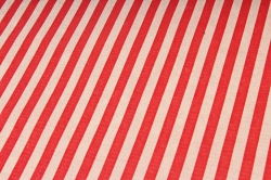 Бумага  крафт цветочная Полосы Красные 70см*10м  40г/м2    37917ПУ   М