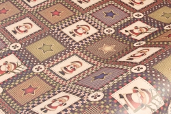 Бумага  крафт 203/Х135  Нов. Год.  Рождественский пэчворк 0,7*1м (10 лист.)