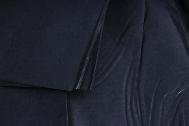 Бумага  тишью (Ч) чёрная  50*66см (10 листов в уп)