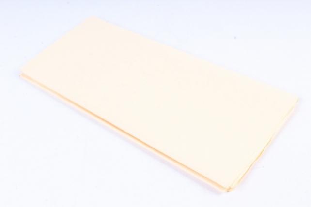 Бумага  тишью (Ч) кремовая  50*66см (10 листов в уп)