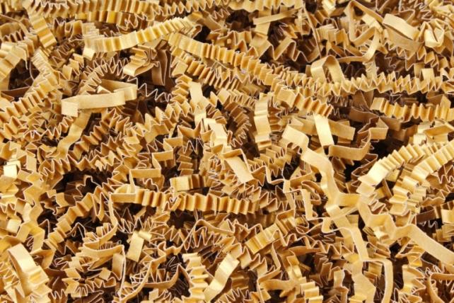 Бумажный наполн. Волна (3мм) Majestic Настоящее золото (408) 100гр