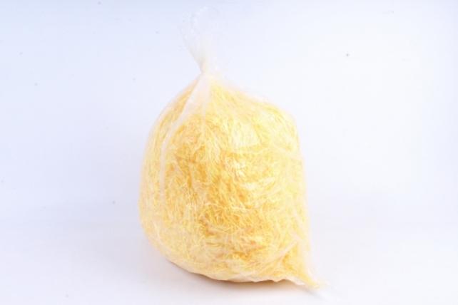 Бумажный наполн. Волна  (1кг ) Канареечно-желтый  (112)