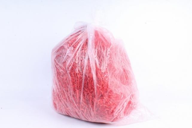 Бумажный наполн. Волна  (1кг ) Кораллово-красный  (116)