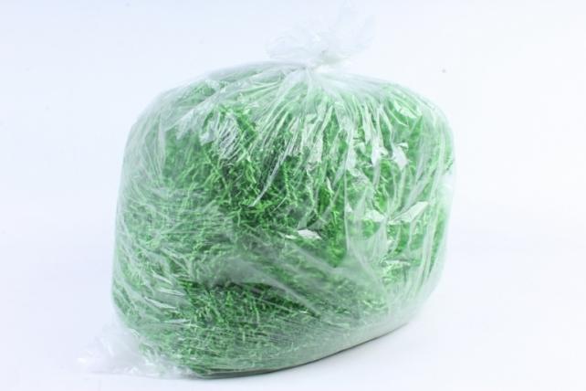 Бумажный наполн. Волна  (1кг ) Лесной зеленый  (156)