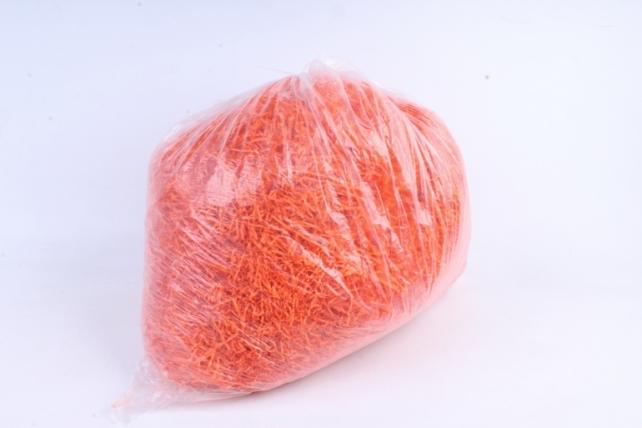 Бумажный наполн. Волна  (1кг ) Оранжевый  (115)