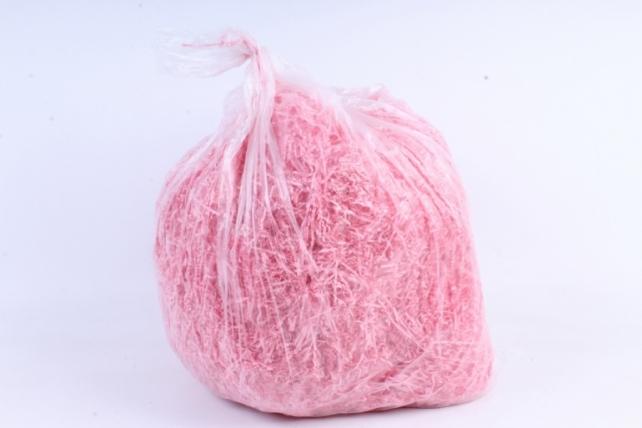 Бумажный наполн. Волна  (1кг ) Розовый   (106)