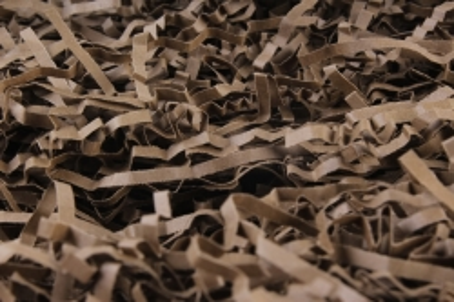 Бумажный наполн. Волна  (1кг ) Шоколадный  (153)