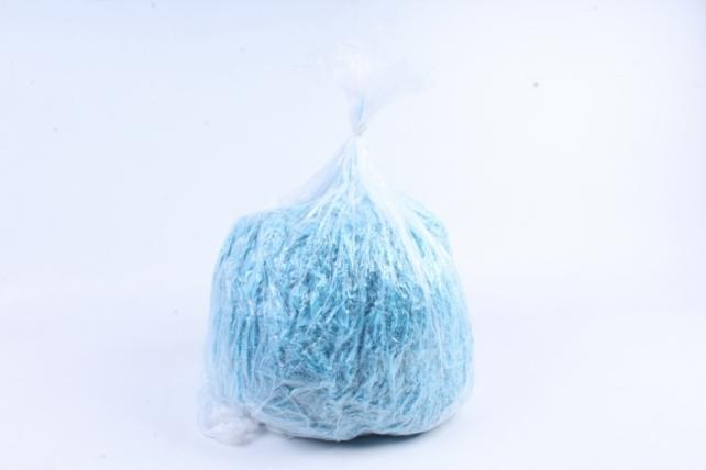 Бумажный наполн. Волна  (1кг ) Светло-синий  (120)