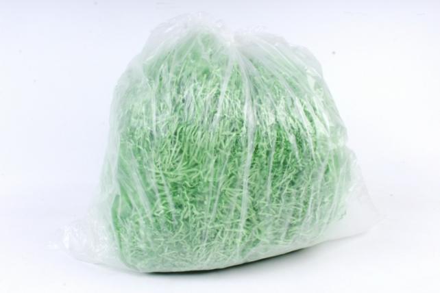 Бумажный наполн. Волна  (1кг ) Ярко-зеленый  (119)