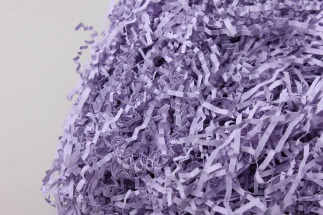 Бумажный наполнитель Бледно-лиловый (128) 100гр