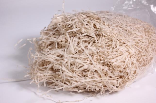 бумажный наполнитель - пергамент - небеленый (204) 100гр