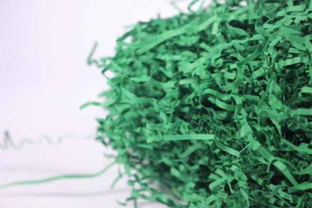 бумажный наполнитель - волна изумруд (150) 100гр