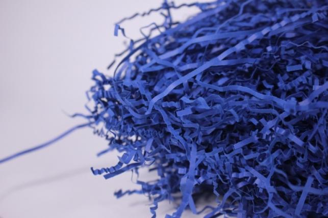 бумажный наполнитель - волна кобальт (150) 100гр