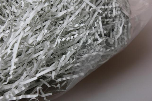 бумажный наполнитель волна серый (129) 100гр