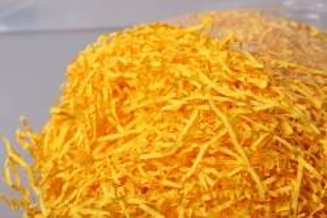 Бумажный наполнитель Волна Солнечно-желтый (114) 100гр