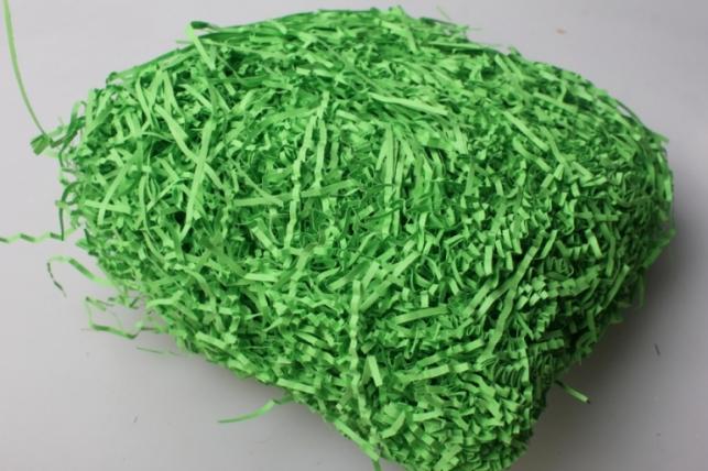 Бумажный наполнитель Волна Ярко-зеленый (119) 100гр
