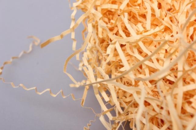 бумажный наполнитель волна золотистый (126) 100гр