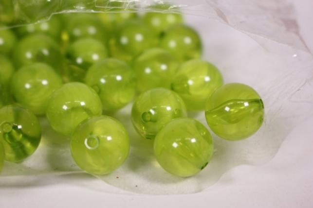 бусины  12мм оливка  (50гр) pl  s01-12 827