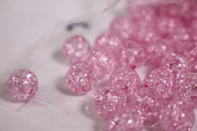 бусины  12мм розовые  (50гр) pl  s01-12 864
