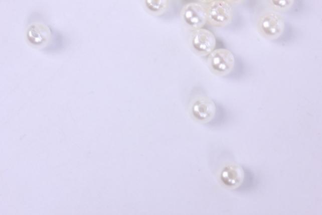 бусины  6мм круглые перламутр  шампань   (50гр) pl в асс. k6-b-02