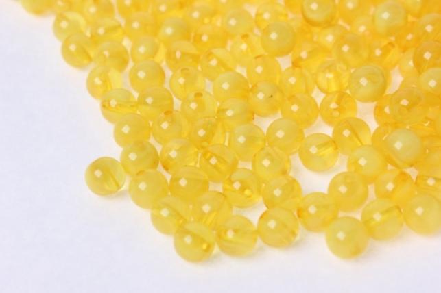 бусины 8мм круглые малахит желтый  (50гр) 8114