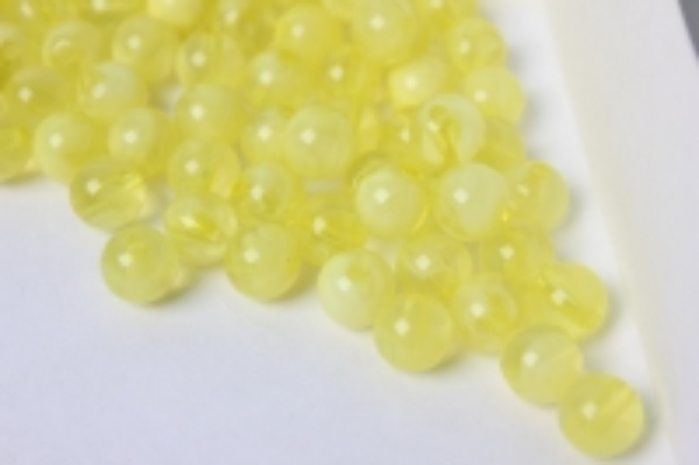 бусины 8мм круглые малахит лимонный (50гр) 8114