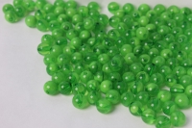 бусины 8мм круглые малахит зеленый (50гр) 8114
