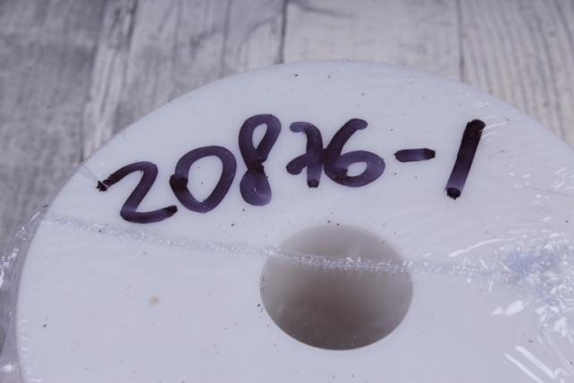 бусины на бобине .6мм*20м белый жемчуг  2337  6abs20m-p1