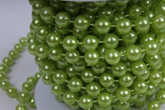 бусины на бобине .8мм*10м оливковые   9739  8abs10m-32