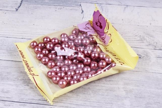 Бусины  10мм  Круглые Молочный шоколад (50гр) XD10-51