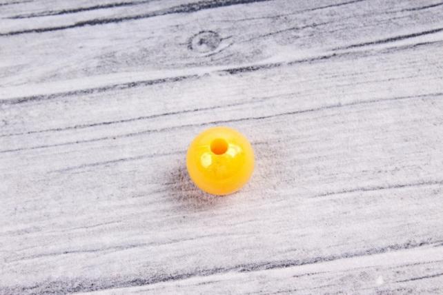 Бусины  10мм  Круглые Светло-оранжевые перламутр (50гр) 10MMAB137