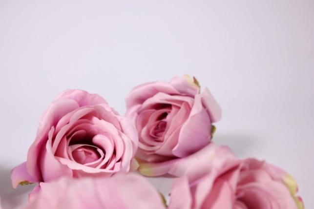 бутон розы лиловый (в уп. 12 шт) d=9см mght