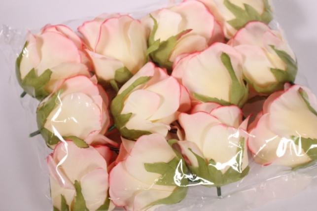 бутон розы малиново - розовый (в уп. 12 шт) d=9см mght