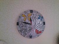 Часы и ваза №2