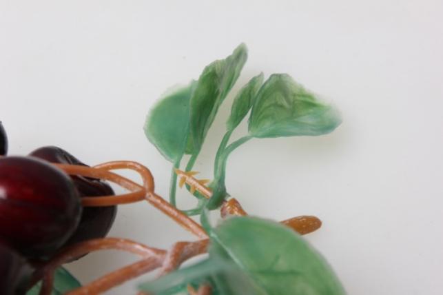 черешня искусственная на ветке