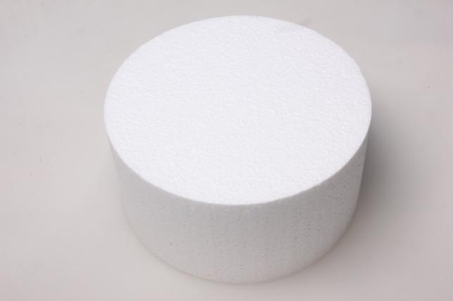 Цилиндр из пенопласта d=20, h=10см (1шт в уп) 04-Ц