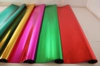 цвет.мет 0.7 цветочная плёнка - рулон 0.7 цвет.мет - малиновый 9414