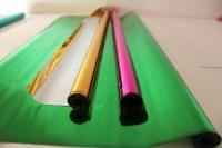 архив продукции цветочная плёнка - рулон 0.7 цвет.мет - тёмно-зелёный 941-1