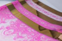 цветочная пленка рулон 0,7 президент (240гр) ярко-розовый 58310