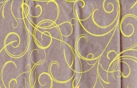 Цветочная плёнка - Рулон 0.7 Серпантин - Желтый