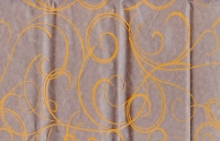 Цветочная плёнка - Рулон 0.7 Серпантин - Оранжевый