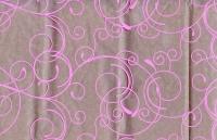 Цветочная плёнка - Рулон 0.7 Серпантин - Розовый
