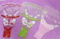 Цветочные пакеты - Рюмка малая цветная р/р  в ассортименте