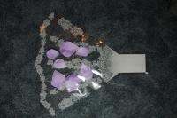 Цветочные пакеты Рюмка - Малая с рисунком