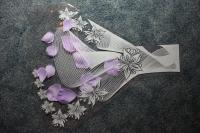 Цветочные пакеты Рюмка - Средняя с рисунком