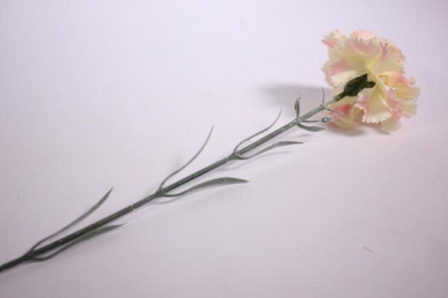 цветок гвоздики 55см - розовый kwsj6d 8551